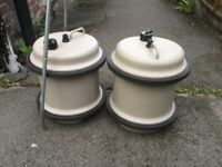 Aquaroll water containers