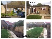 2 Bed Bungalow in Hintlesham for 2 Bed Bungalow on bus route to Ipswich Hospital