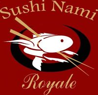 Sushi Nami Royale Dartmouth is now hiring part-time server