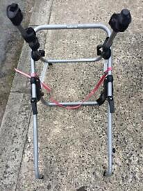 Halfords 3 Bike Car Rack (great condition, clamp fitting)