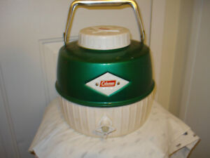 vintage Coleman water dispenser