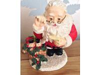 Christmas in July. Santa Christmas Ornament