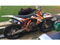 2012 ktm 250cc roczen edition *very clean*