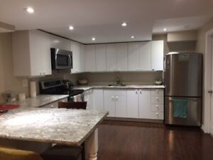 Beautiful 2 bedroom legal basement Newmarket-Available Oct/1/17
