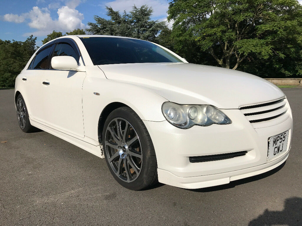SUPERB TOYOTA MARK X 2.5 V6 Pearl White(NOT GS300 IS250 MARK X) NEW IMPORT