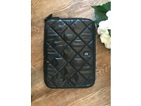 Ordning&Reda Black Quiled iPad/ Tablet Case