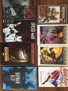 Various Comics and Graphic Novels