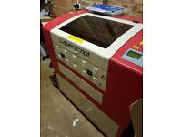 Laser cutter and engraving machine