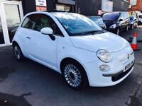 2009 Fiat 500 1.2 Lounge Baby Blue **Panoramic Roof**