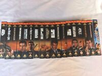 VHS Tapes including a numbered James Bond collection