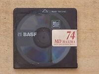 10 x BASF 74 MD-MAXIMA BLANK RECORDABLE MINI DISCS 74 MINUTES