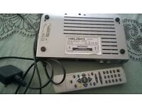 Bush digital terrestrial receiver with remote . Set top box