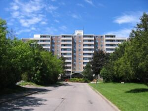 close to fairview mall,two bedrooms for one tenant in a condo