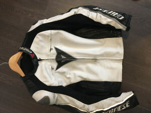 Dainese Full Leather Motorcycle Jacket