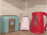 Toaster, Kettle & Smoothie Maker for Sale