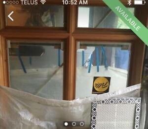 Pella windows brand new with blinds high r value
