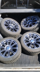 """17"""" New Winter tires and rims"""