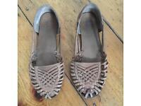Bertie brown sandals - size 39