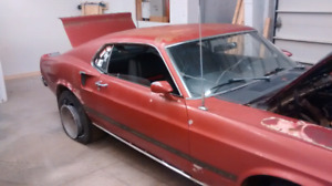 Looking for 1969 mustang fastback body parts