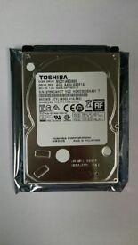 "Toshiba 500GB, 2.5"" Hard Drive *BRAND NEW*"