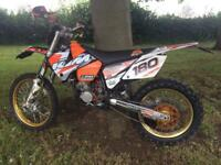 Road legal ktm sx125 2004 mot v5 learner Mx enduro 125cc Reg crosser m/x 125