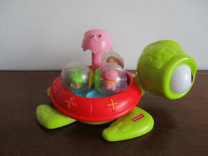 Tortue/Toupie À Balle   Fisher Price