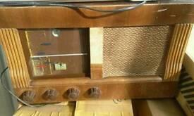 Rare antique radio