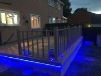 Fencing, landscaping, decking, paths, hedges and grass cuts, patios ALL garden work undertaken