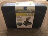 Brand New Masterplug Weatherproof box & 8M extension Lead
