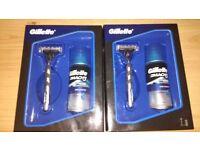 2x Gillette Mach 3 Gift Set