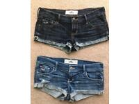 Holister Shorts As New Size EUR 5 - uk 10 £3 EACH