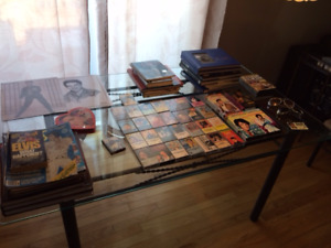 Elvis collectibles collection for sale