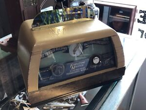 1950's Fidletone master record player needle store display!