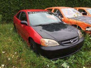 Honda Civic 2002 - Bancs de course - Vollant Quick