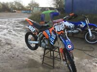 Ktm 125 03 good reliable fast bike with papers