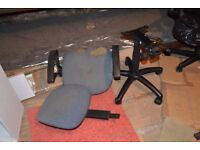 FREE Parts of desk chair for spares or repair