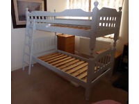 Solid Pine (painted) bunk beds