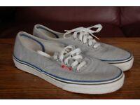 Vans Trainers, Size US 9, UK 8.5