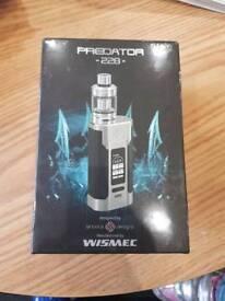 New wismec predator vape kit