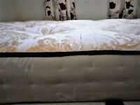 JosepSultan - Medium Firm - 2000 Pocket Spring Mattress - 4'0 x 6'3 - Small Double - Made in UK