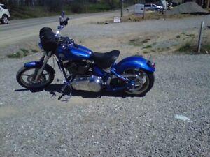 2008 soft tail rocker c harley davidson