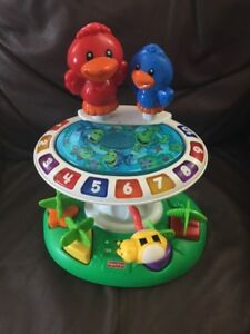 Fisher-price learning birdbath