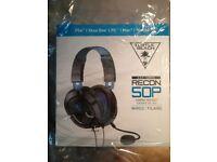Headset Earphones, PS4, Xbox, PC Turtle beach