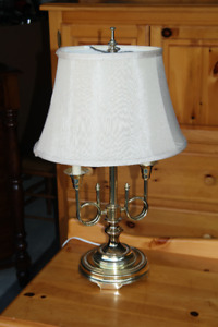 Colonial Style Brass Lamp