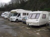 Secure Vehicle Parking / Storage to Rent, Car, Caravan, Motorhome, Boat, External, Flexible Periods