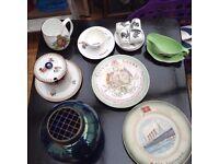Selection of crockery