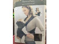 Mamas & Papas baby carrier deluxe