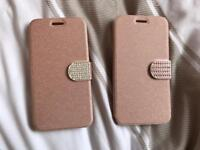 2 new Samsung Galaxy J5 wallet style phone cases