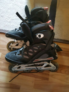 Action packed roller blades