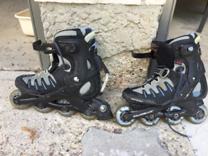 Rollerblades size 8 womens / 6 mens